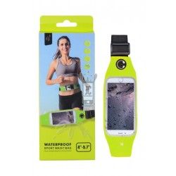 "Funda BB104 Waterproof Sport Wsist Bag 4"" - 5,7"" Verde"
