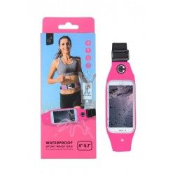"Funda BB104 Waterproof Sport Wsist Bag 4"" - 5,7"" Rosa"