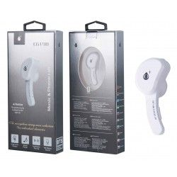 C6198 Bla Auricular Bluetooth Twins para 2 Dispositivos BTS, Blanco