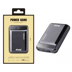 K3632 NE Power Bank PocketStation 10000mAh, 2USB with LED Indicador, Negro