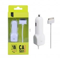 CA501-Cargador Mechero para iPhone4/4s