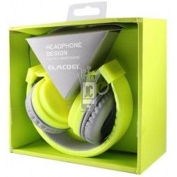 EV90 Auriculares  Auricular DJ Headphone Amarillo