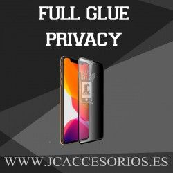 """Apple Iphone 11 6,1"""" Protector Full Glue Privacy Negro"""