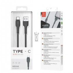 WOOX WB3048 CABLE LED TIPO-C 2A 1M NEGRO