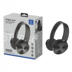 WOOX WC2597 CASCO AURICULAR INALAMBRICO BLUETOOTH 4.2 NEGRO