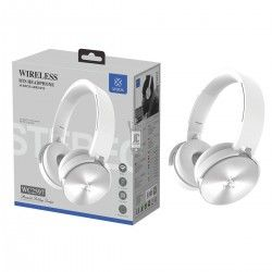 WOOX WC2597 CASCO AURICULAR INALAMBRICO BLUETOOTH 4.2 BLANCO
