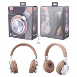 WOOX WC2783 CASCO AURICULAR INALAMBRICO BLUETOOTH MARRON