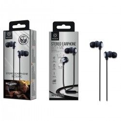 WOOX WC2805 AURICULARES STEREO CON MICROFONO Negro