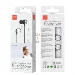 WOOX WC2936 AURICULARES STEREO CON MICROFONO GRIS