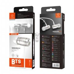 WOOX WC3150 AURICULARES STEREO BTS 5.0 Blanco