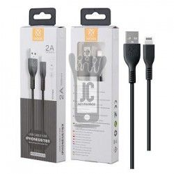 WOOX WB2480 CABLE PARA IPHONE 2A 2M NEGRO