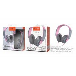 K3647 RS Auriculares con Microfono Tink, Cable Audio 1.2M, Rosa