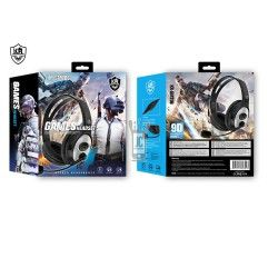 GM706 Auriculares Casco Gaming