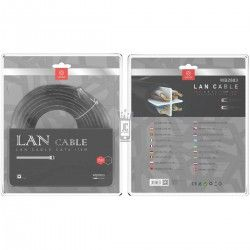 WOOX WB2883 LAN CABLE CAT6 15M NEGRO