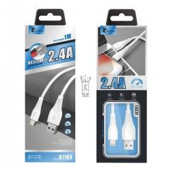 LT PLUS B7103 CABLE IPHONE 1M BLANCO 2.4 A