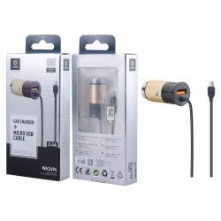 WOOX WA2494 USB CAR CHARGER FOR MICRO CABLE 5V 2.4A